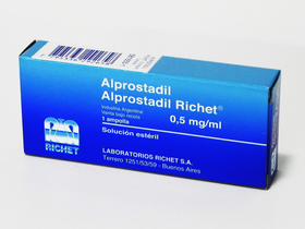 Alprostadil Richet® 0,5mg Inyectable I.V